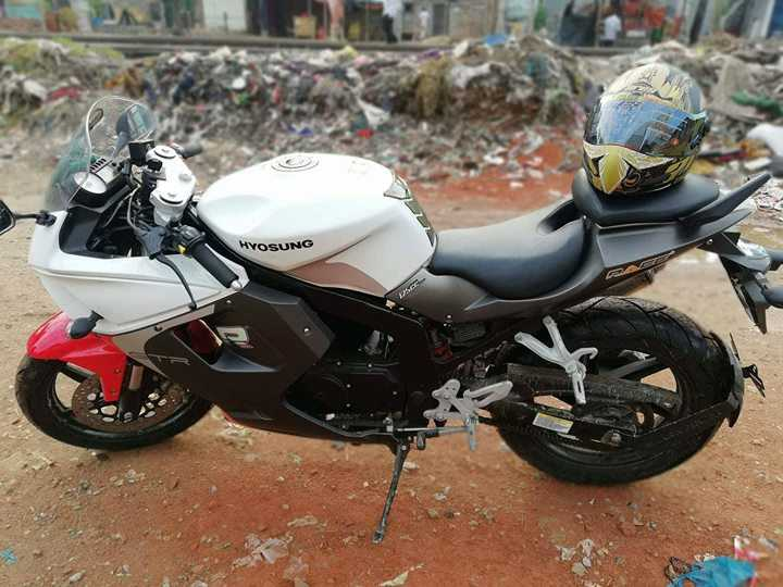 Prapti Bazaar | Hyosung GTR-125 is up for sell