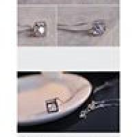 Cube Square Locket for Women