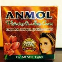 Anmol Whitening & Acne Cream, 40g