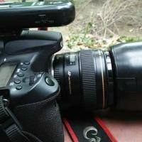 Urgent Sell Cannon 70D with Cannon 85mm prime brend new condition come from abrod no paper no box sc