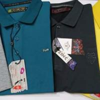 Solid pk cotton polo shirt