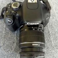 canon 600D with 18-55 lens