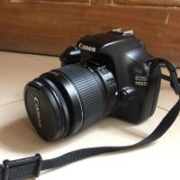 Canon 1100d with kit lens