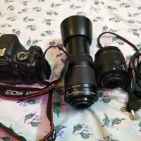 Canon 600D with 2 lans