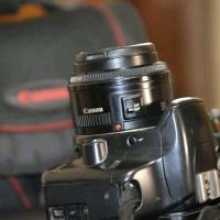 canon 450d with 50 mm prime lens