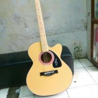 new Acoustic guiter with bag
