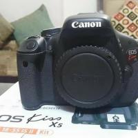 Canon 600d only body sell