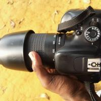 Canon600d with zoom lnc 75-300