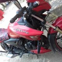 Tvs Apache RTR Mate Red 2017
