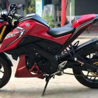 Yamaha Mslaz red