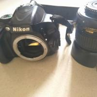 Nikon D5100 with 18-55 vr lens