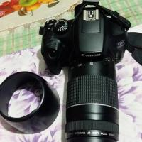 Canon 1300D with 75-300 sell debo new condition & warrienty