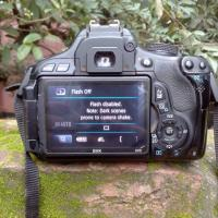 Canon 600D With Zoom Lens