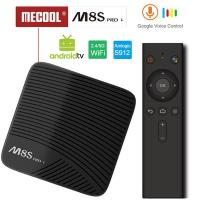 Mecool M8S PRO L Voice Control Function 3GB 16/32GB Android 7.1 4K TV Box Amlogic S912 4K Media Player & Set Top Box