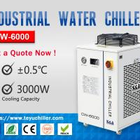 Recirculating Industrial Chiller Unit CW-6000