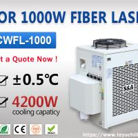 Industrial Water Chiller Unit for 1000W Fiber Laser