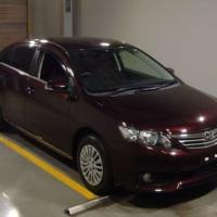 TOYOTA ALLION G RED WINE 2014